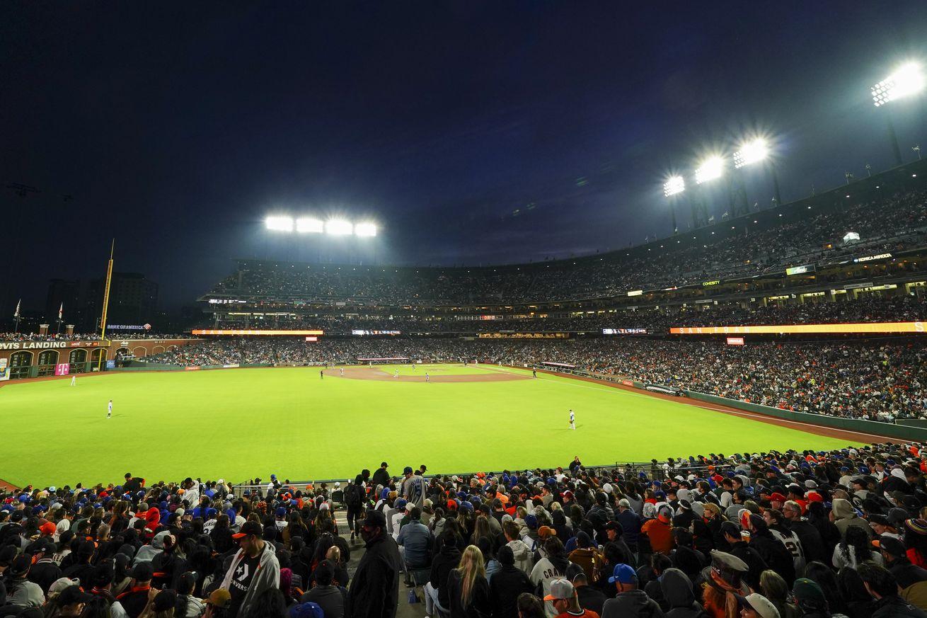 Los Angeles Dodgers v. San Francisco Giants