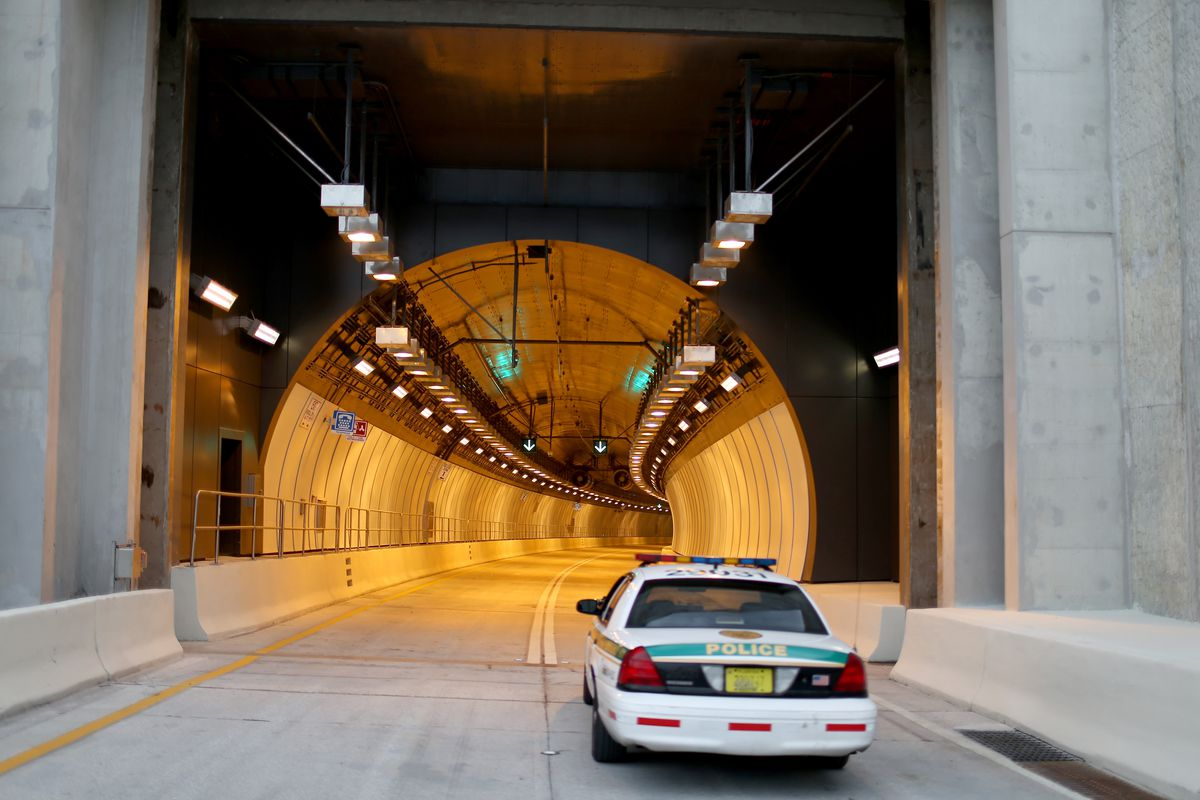 The PortMiami Tunnel Opens In South Florida