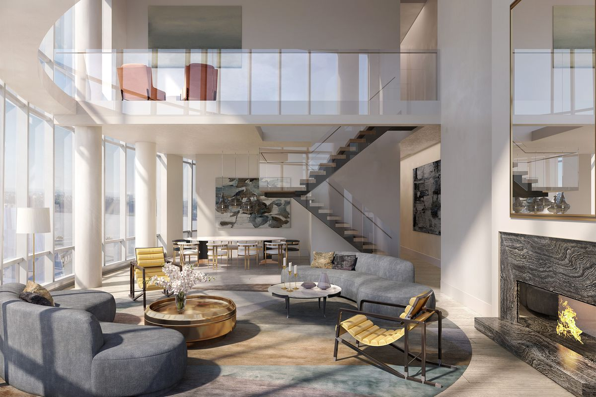 Hudson Yards Real Estate Penthouse At 15 Hudson Yards
