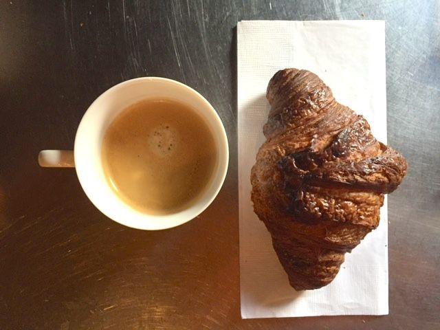 Champion coffee, Bien Cuit croissant