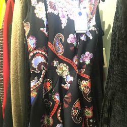 Mary Katrantzou dress, $606 (originally $3,030)