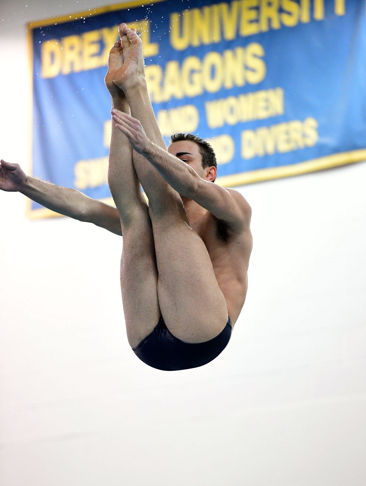 Drexel diver Anthony Musciano competes during the 2016-17 season. Sideline  Photos