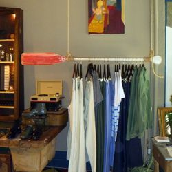 Part of the menswear section