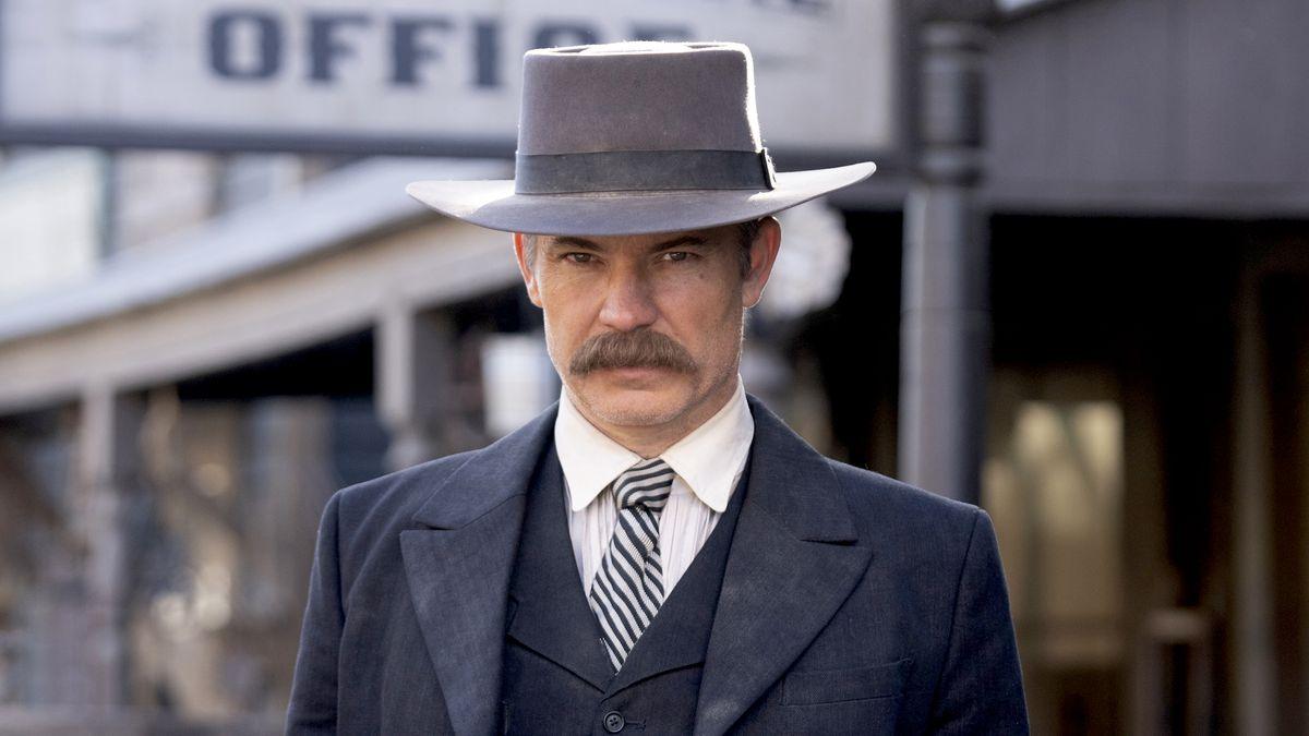 Timothy Olyphant as Seth Bullock in Deadwood: The Movie