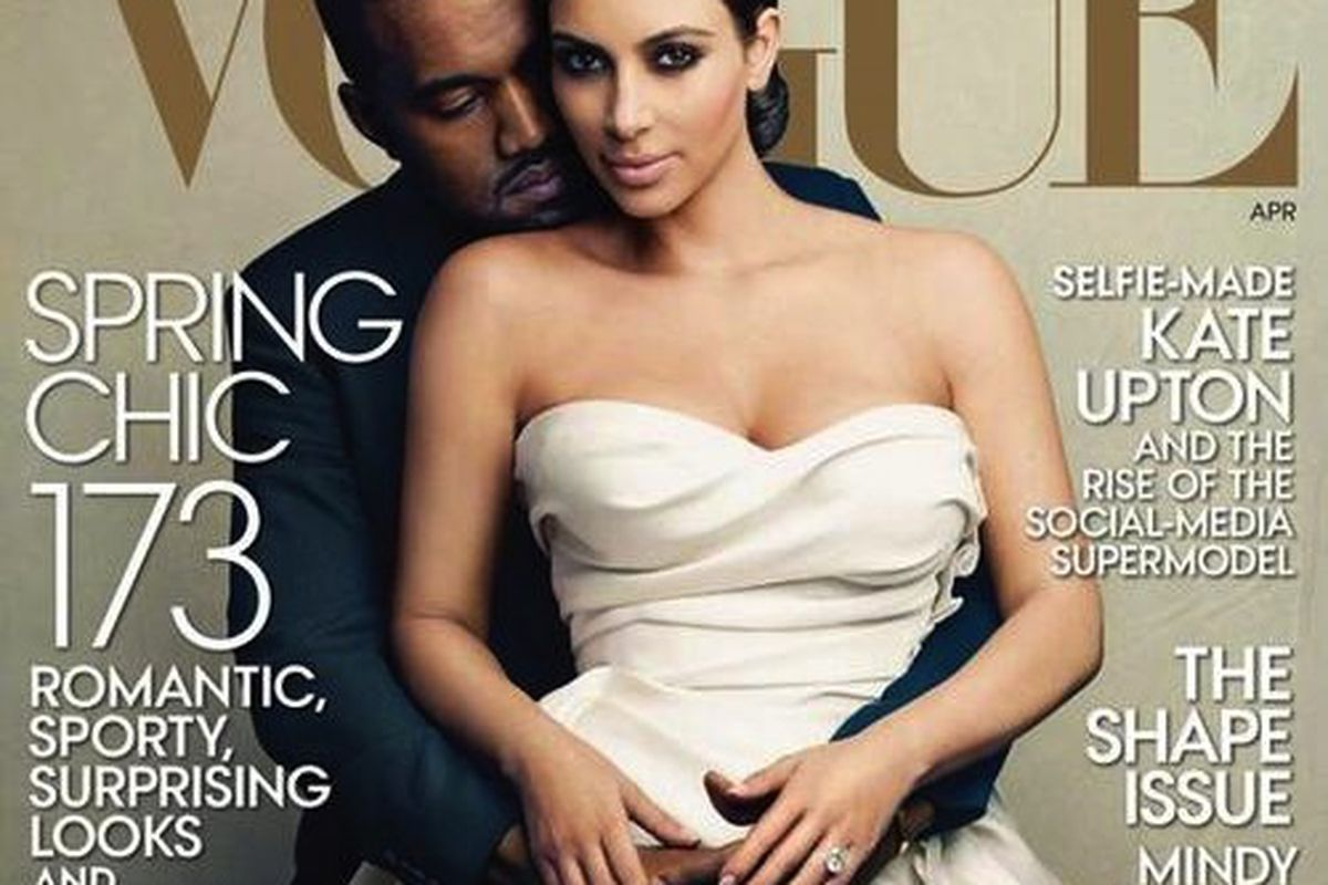 The April cover that shall go down in infamy, courtesy of Vogue