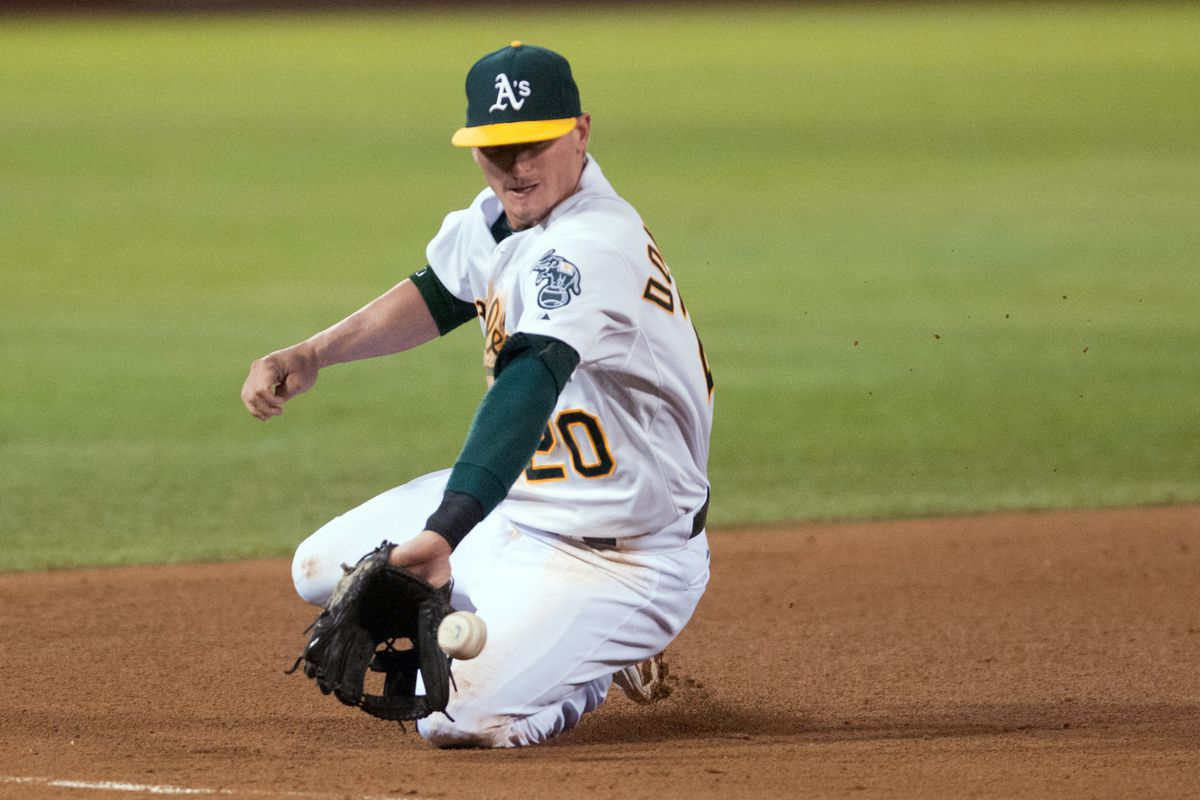 Donaldson's specialty on defense is making plays to his right.