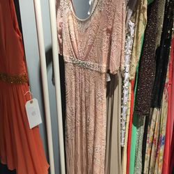Pink haze gown, $2,400