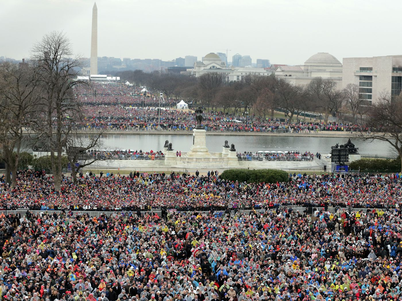 Trump Claims 15 Million People Came To His Inauguration Heres
