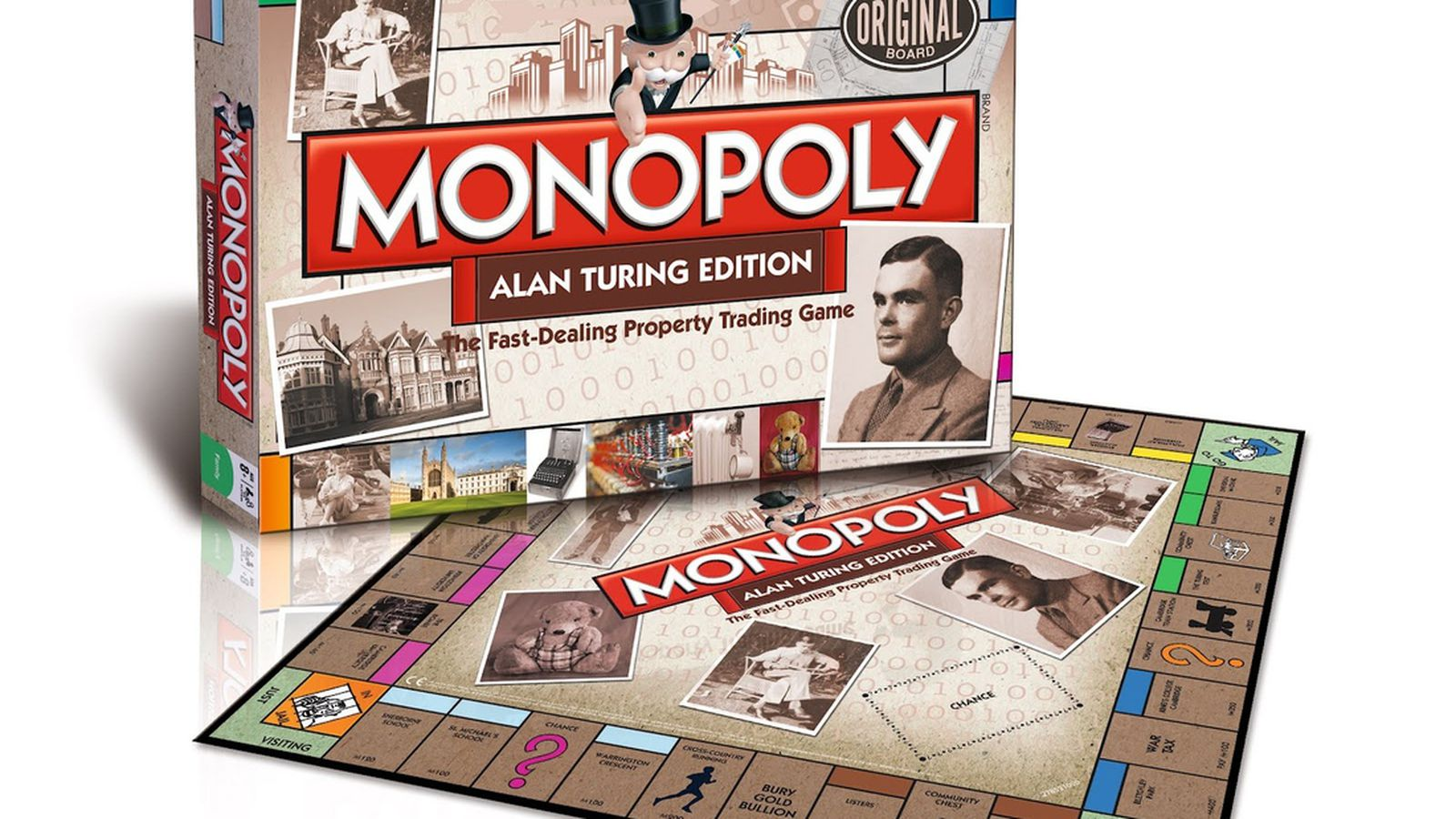 Play Monopoly As Alan Turing Did With New Special Edition