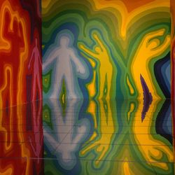"""Artist Juco created a room called """"Seen & Unseen"""" for 29Rooms. 