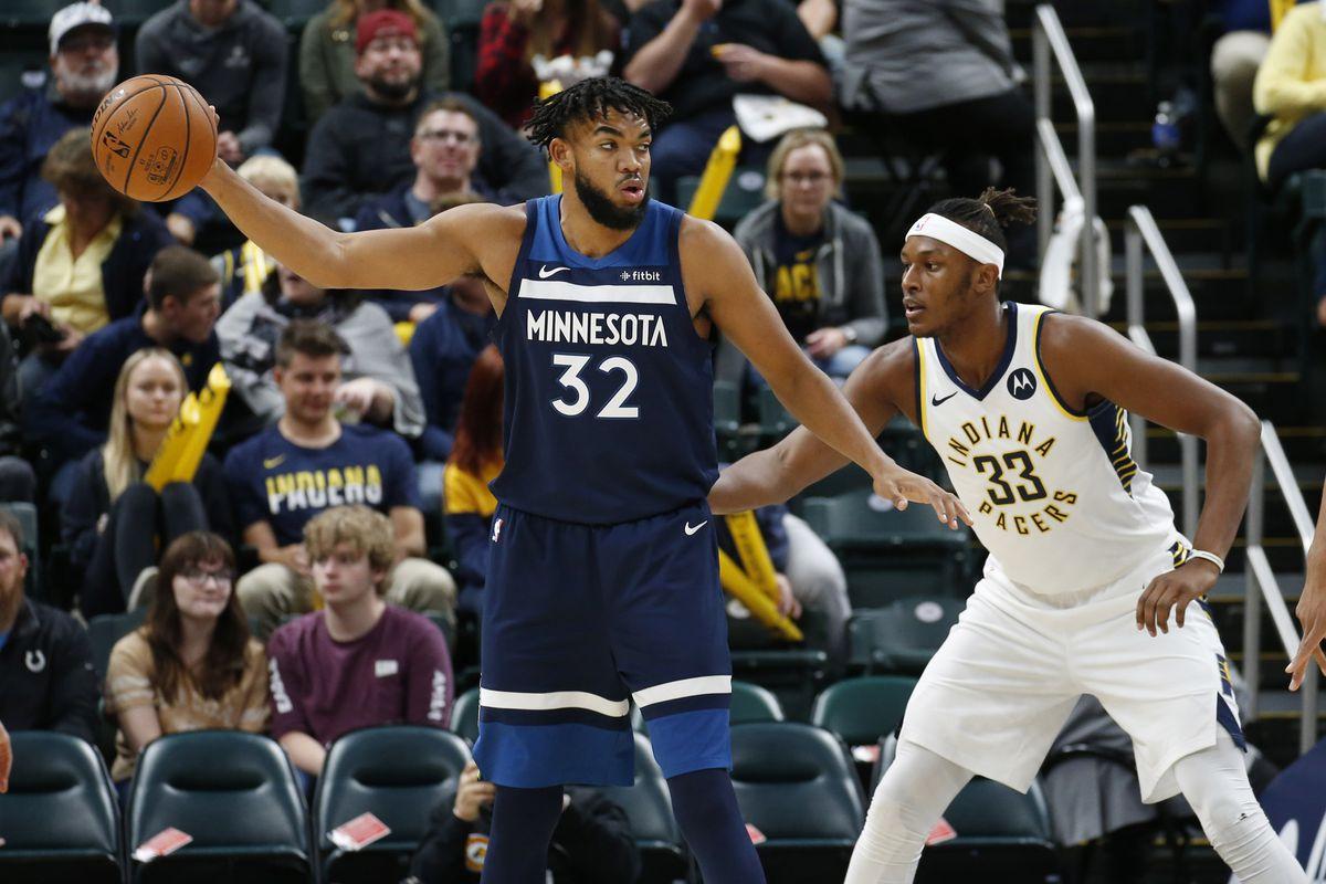 NBA: Preseason-Minnesota Timberwolves at Indiana Pacers