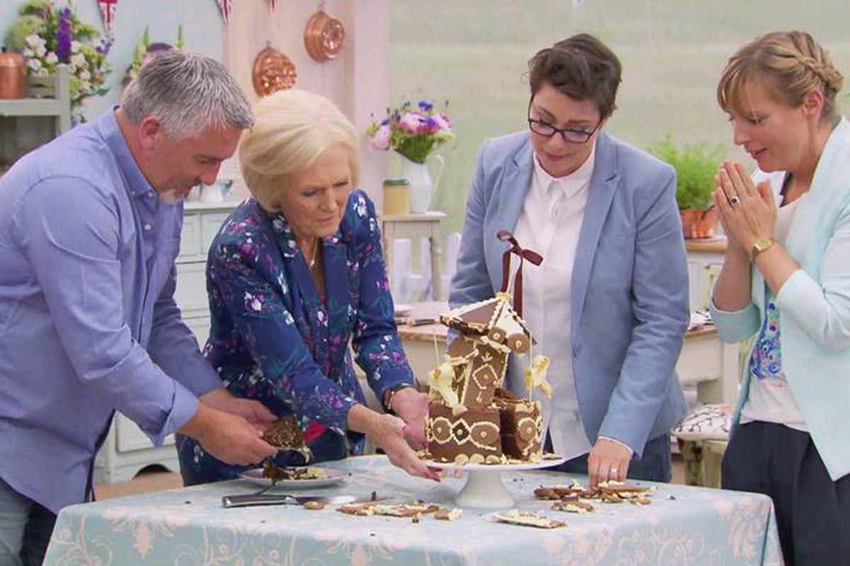 A scene from BBC's 'The Great British Bake Off.'