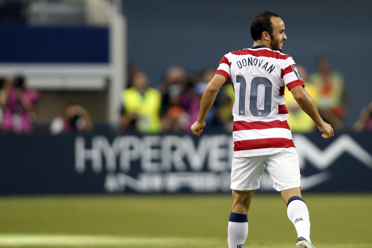 Landon Donovan participated in four Gold Cups during his time with the Galaxy.