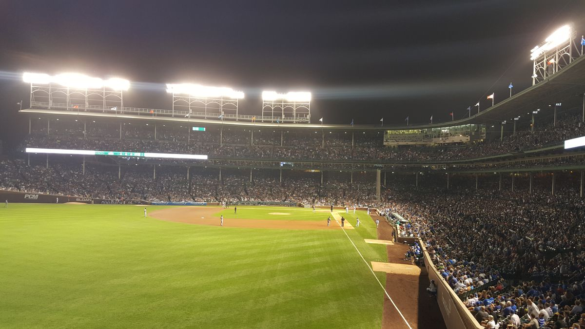 lights out at wrigley 6/22/15