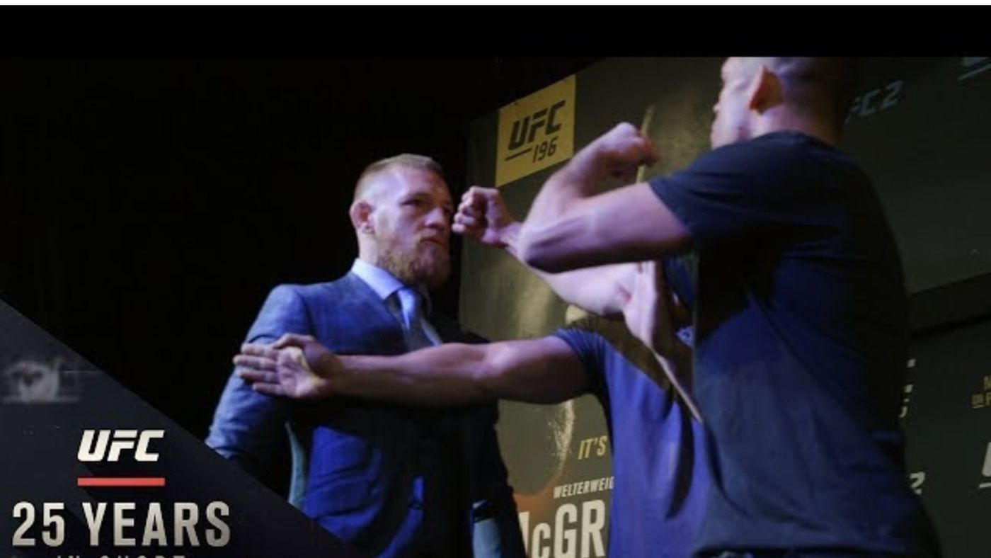Video: UFC calls it 'Bad Blood,' Conor McGregor calls it 'Good Business'