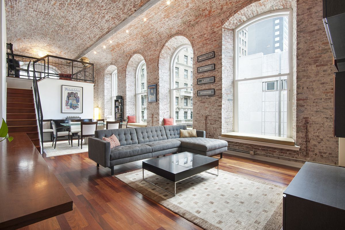Gorgeous White Building Loft Lists For Just Under 1m