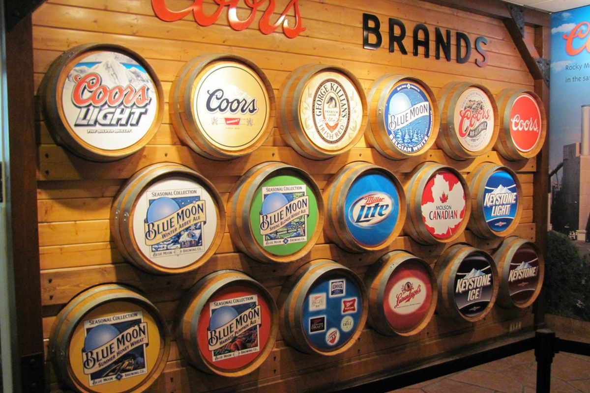 The Denver area is home to more than just the Avalanche, but also the Coors brewery in nearby Golden, Colorado.