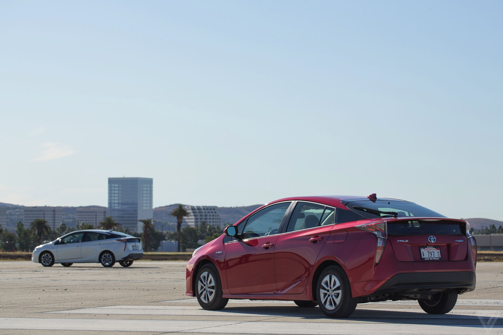 The new Toyota Prius isnt just a good hybrid its a good car