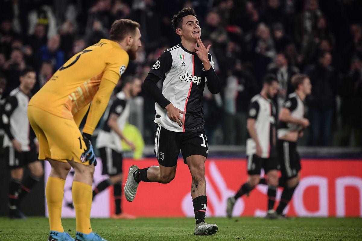 Hasil gambar untuk Juventus 1-0 Atletico