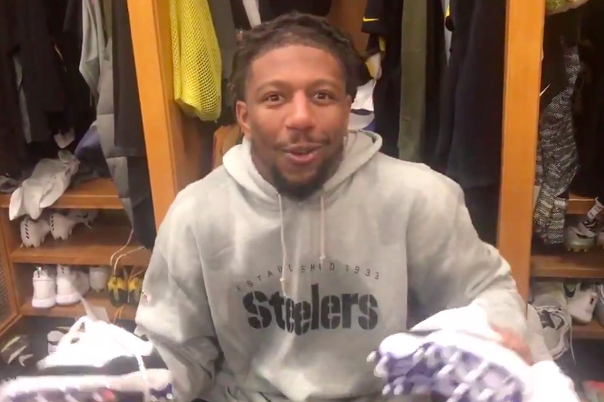 sports shoes 018db 98082 The Steelers raided Le'Veon Bell's locker after he ...