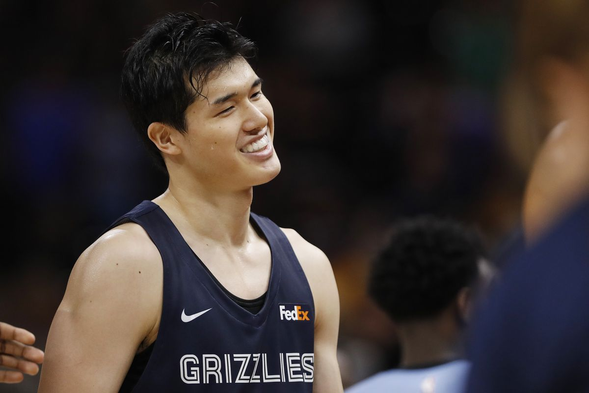 huge selection of bd530 ad1b3 A Breakdown Of Memphis Grizzlies Two-Way Player Yuta ...