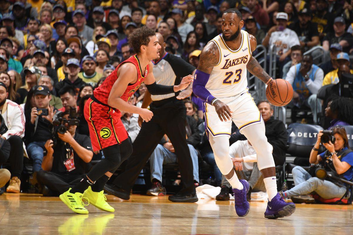 Kết quả hình ảnh cho Los Angeles Lakers vs Atlanta Hawks preview