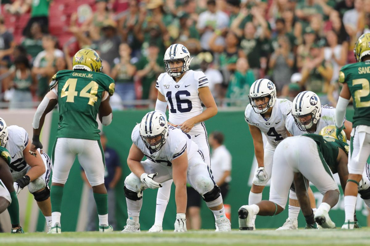 If Jaren Hall can't overcome concussion in loss to USF, BYU will have its 11th starting QB this decade agains…