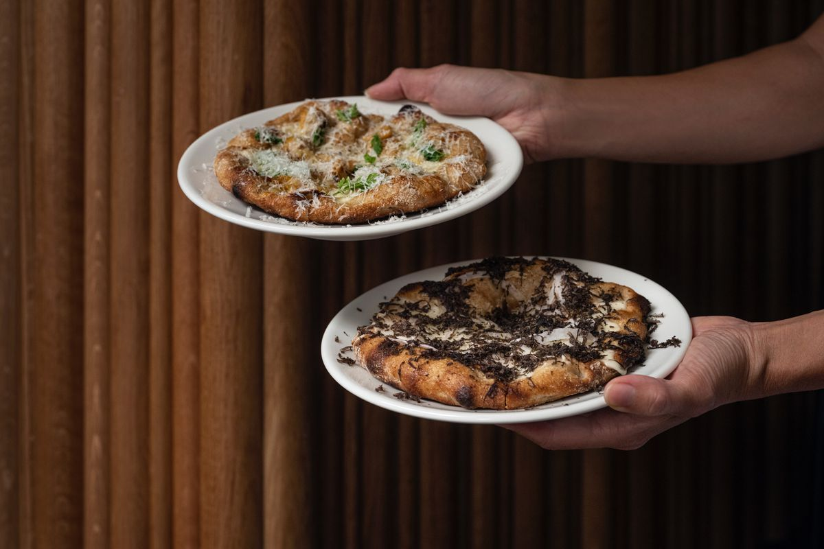 ASAP and Flor pizzas, which will debut from Borough Market next week