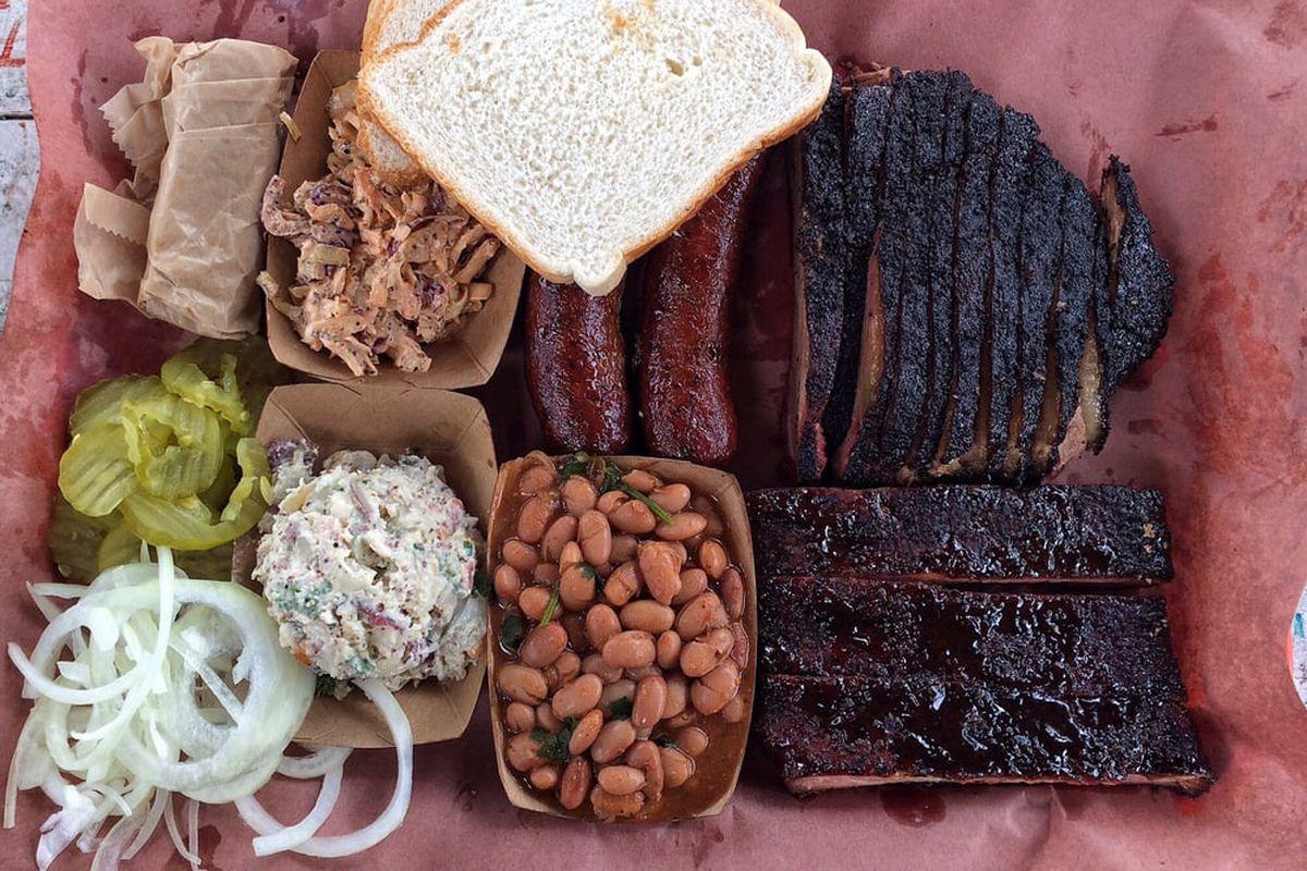 La Barbecue's barbecue