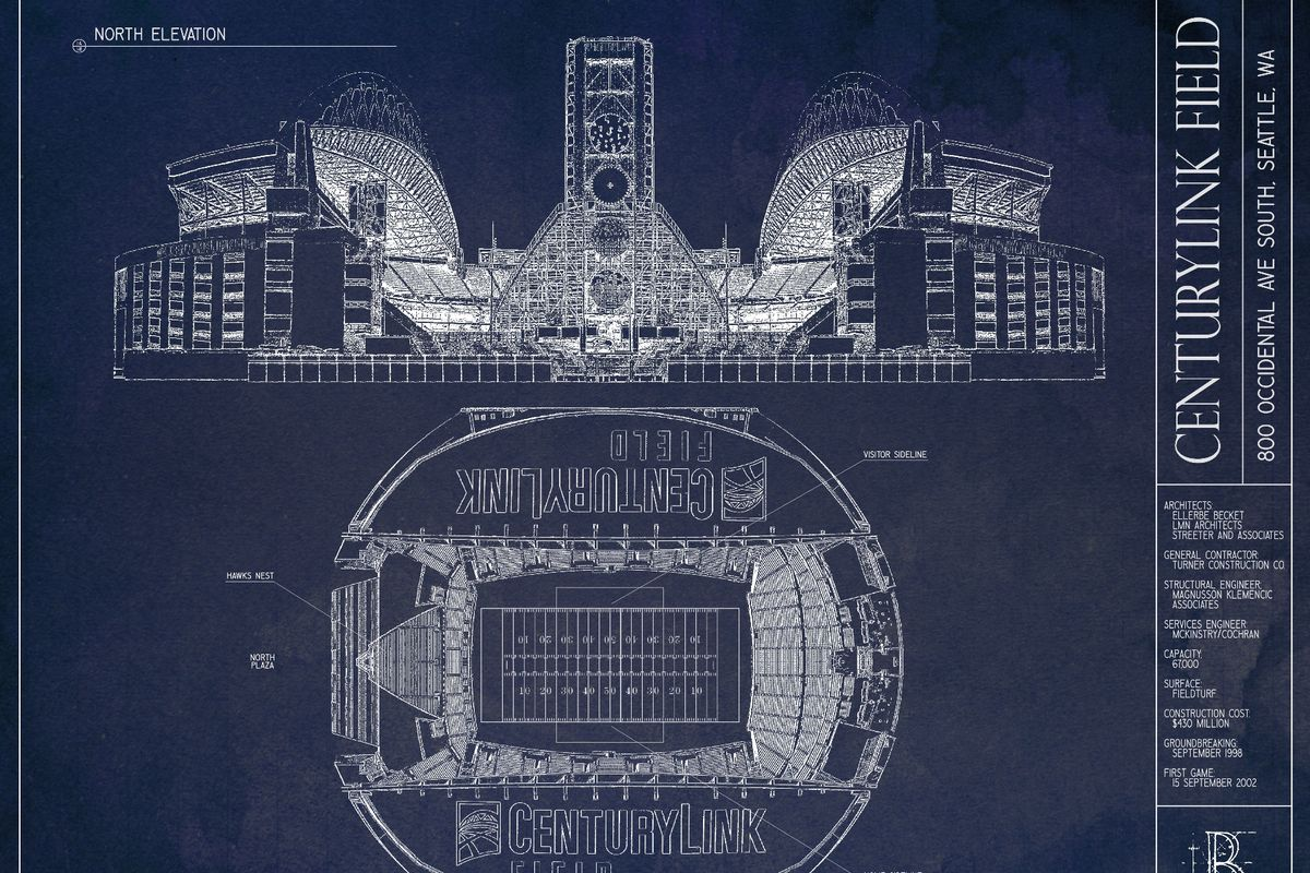 Fathers day gift idea the centurylink ballpark art print field gulls fathers day is coming up so nows the time to start thinking of a cool gift for your old man ive promoted these blueprint art prints from ballpark malvernweather Image collections