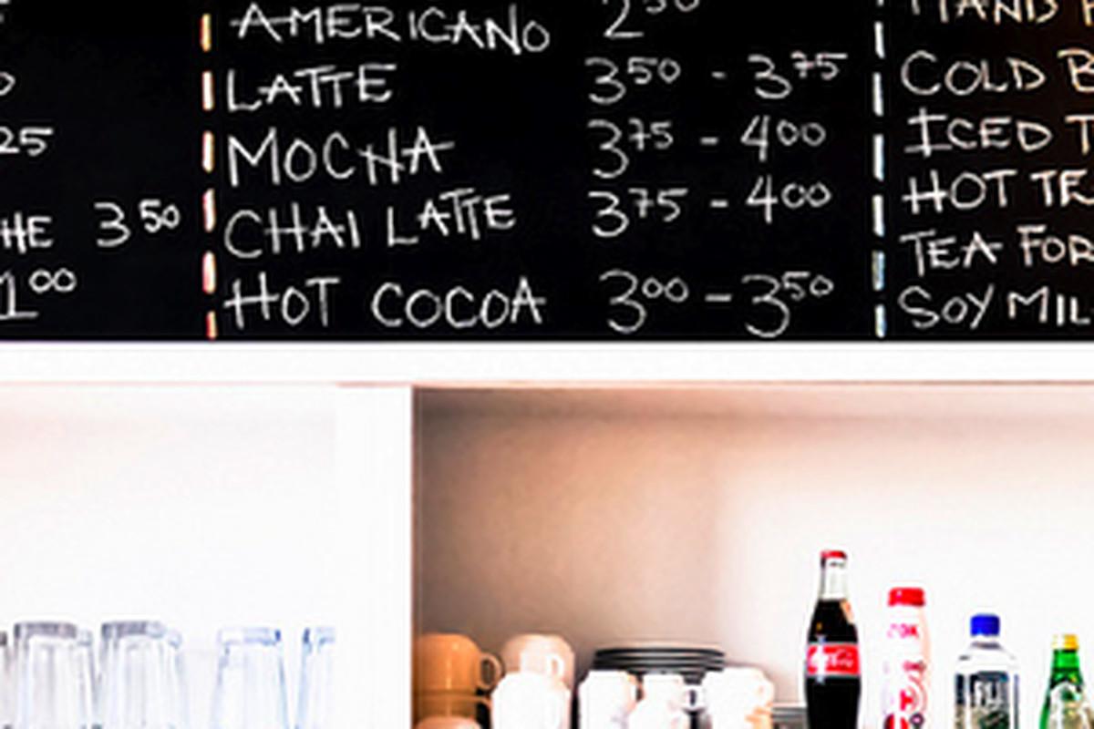 Coffee Commissary inside 801 N Fairfax.