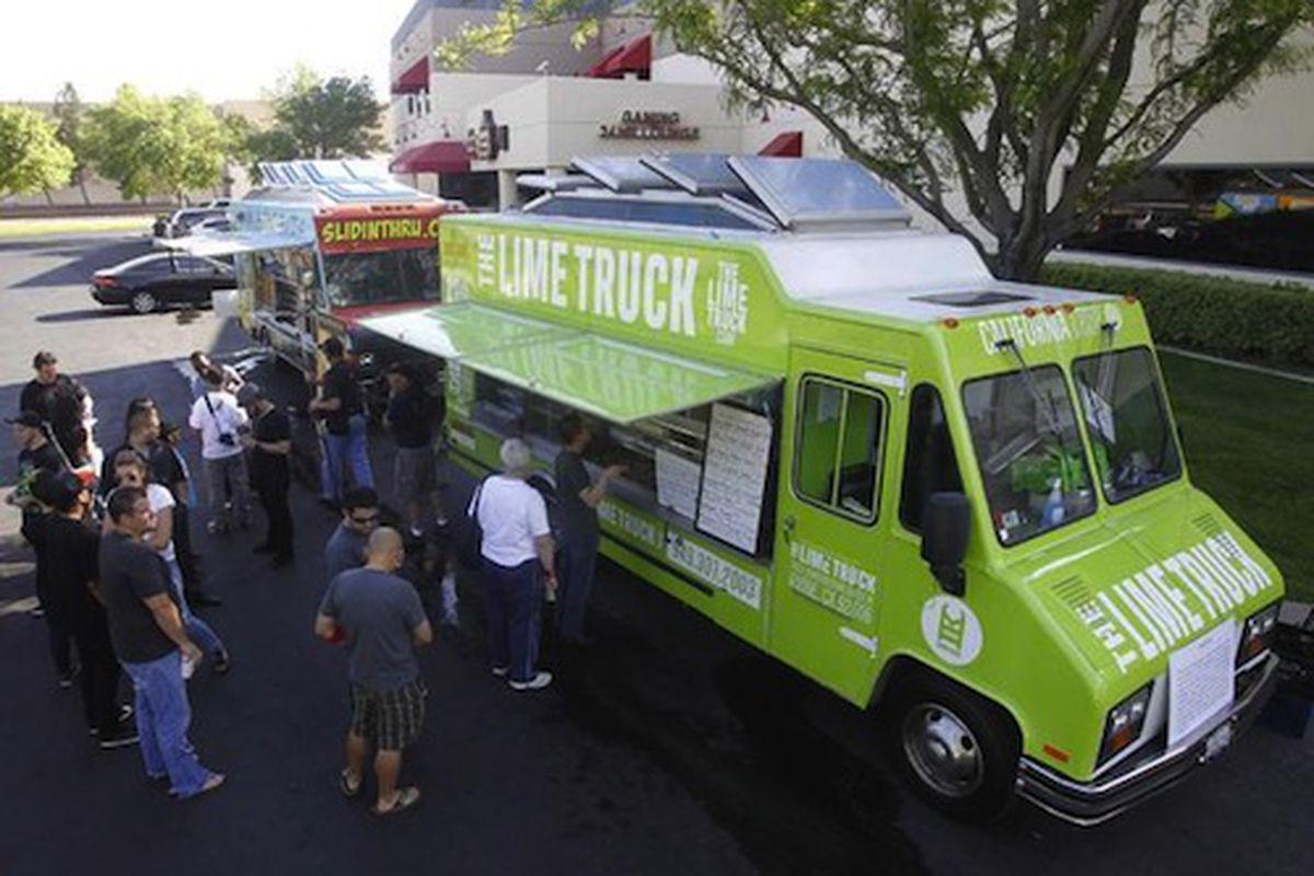 The Great Food Truck Race, season 2.