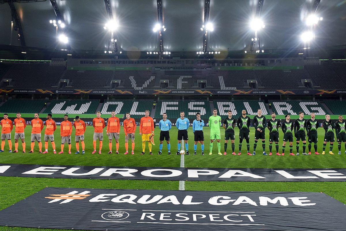 VfL Wolfsburg v Shakhtar Donetsk - UEFA Europa League Round of 16: First Leg