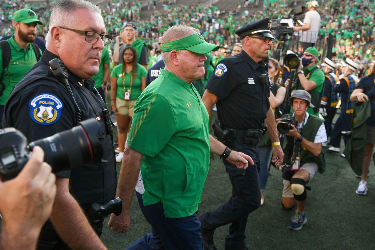 NCAA Football: Purdue at Notre Dame