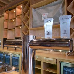 The bar will spotlight Virginia breweries and feature wine on tap.