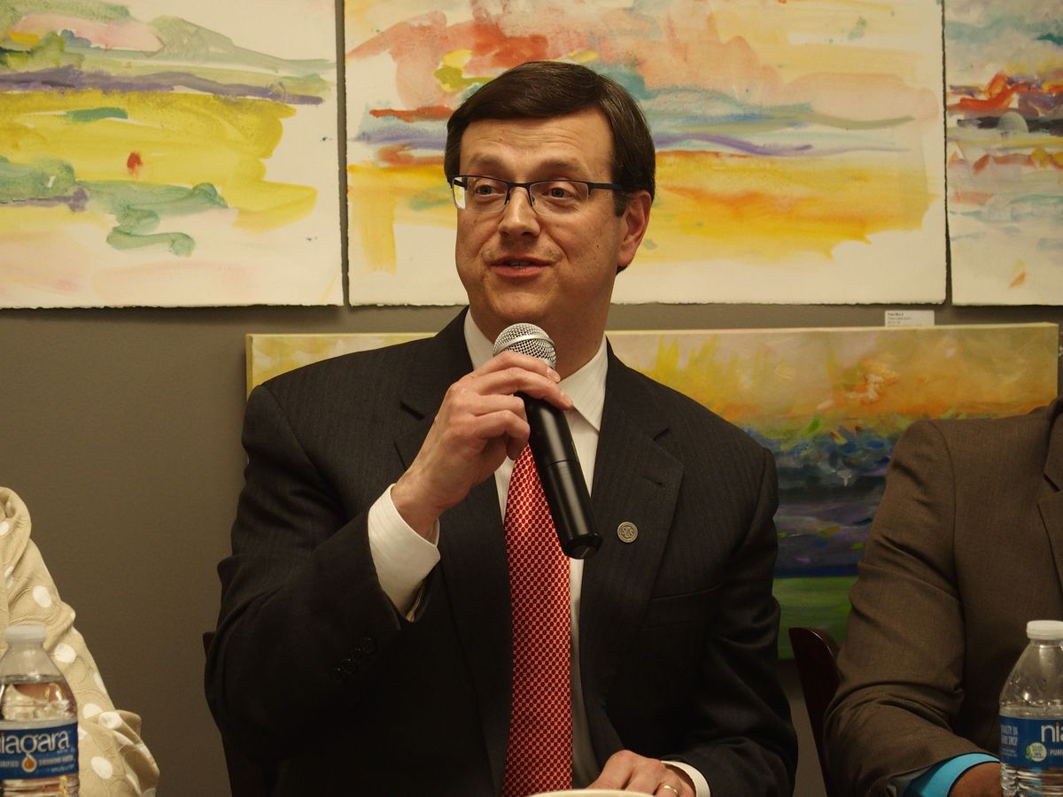 John Barker, chief of staff for Shelby County Schools