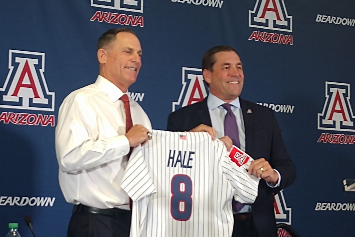 arizona-wildcats-chip-hale-college-baseball-press-conference-jerry-kindall-dave-lawn-tigers-dbacks