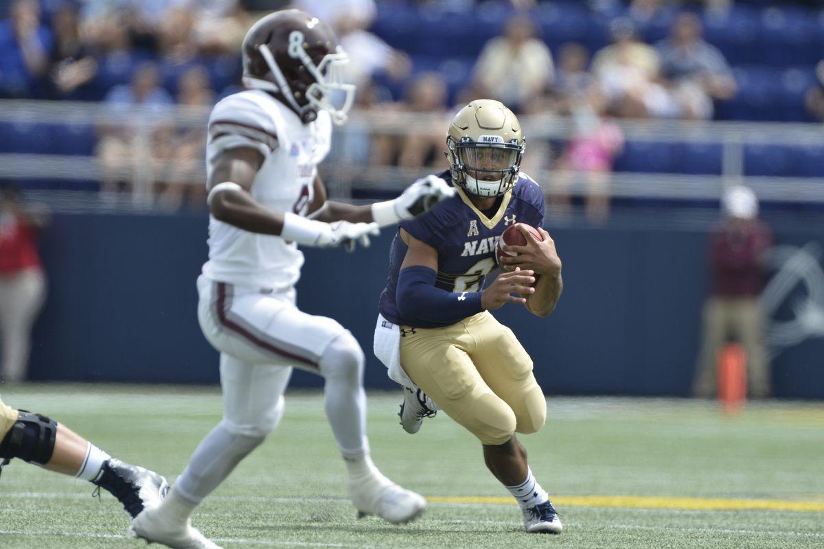 NCAA Football: Fordham at Navy