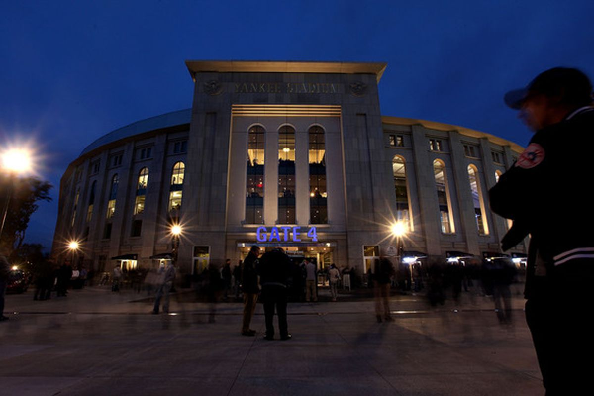 Yankee Stadium will be the 53rd venue where Bob Uecker has broadcast a major league game for the Brewers.