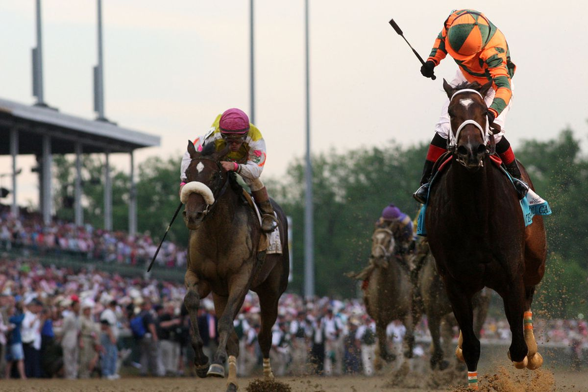 Grace Hall was second to Belive You Can in the 2012 Kentucky Oaks.