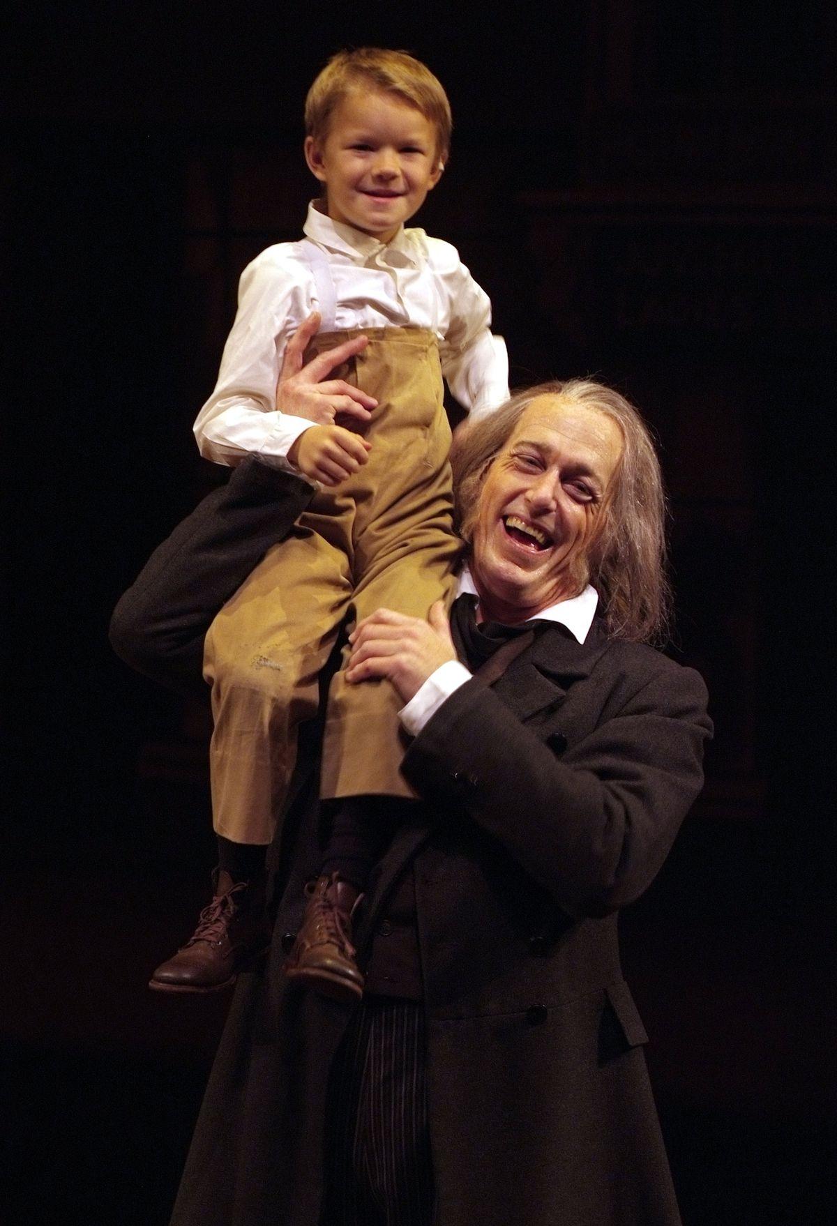 Tiny Tim Christmas Carol.Actors Recall Their Time As Tiny Tim In Goodman S Christmas