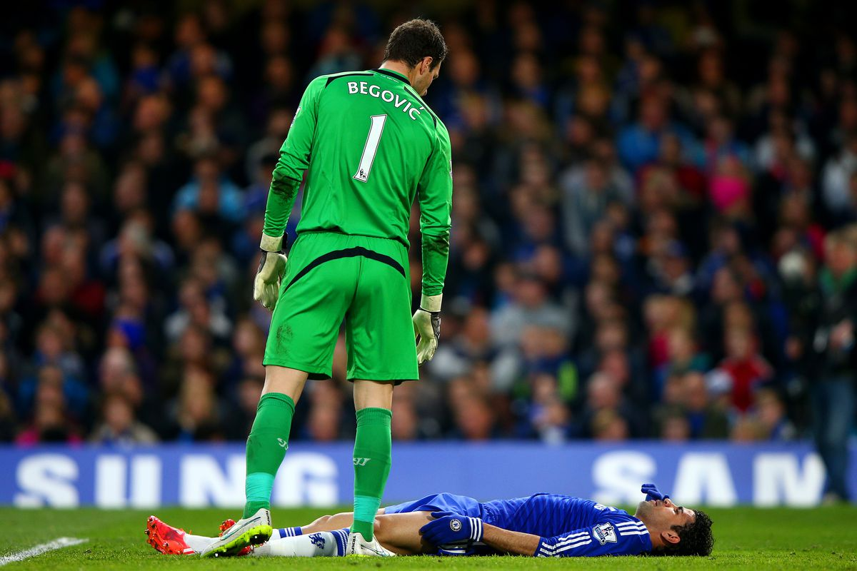 Begovic only wants to join Chelsea so he can participate in our fabled mid-game naptimes