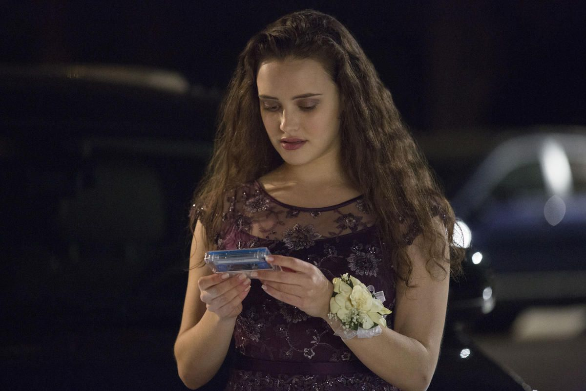 """This image released by Netflix shows Katherine Langford in a scene from the series, """"13 Reasons Why,"""" about a teenager who commits suicide. The stomach-turning suicide scene has triggered criticism from some mental health advocates that it romanticizes su"""