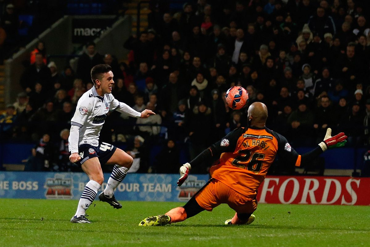 Zach Clough was the star of the show as Bolton defeated Wigan 1-0 in the FA Cup third round