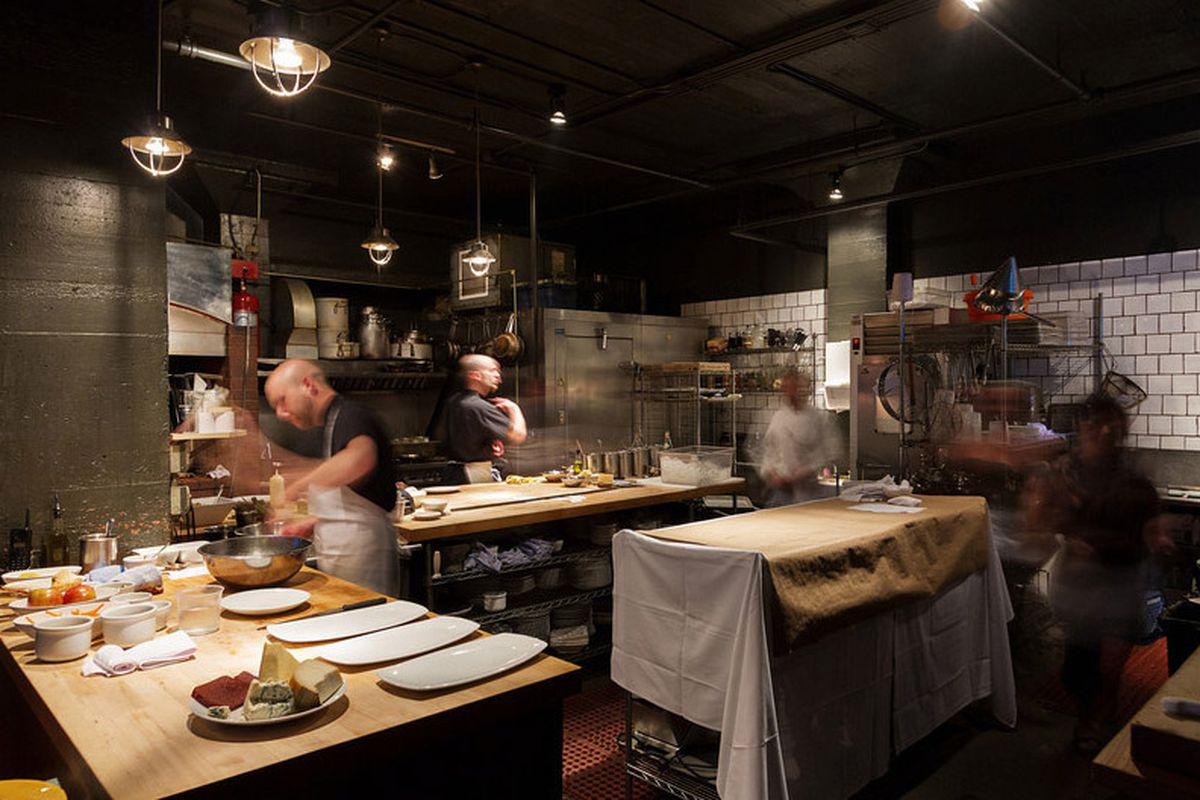 Clarklewis' busy kitchen