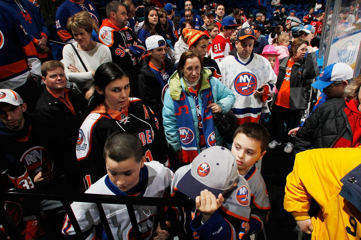 Islanders hockey, and all its familiar trappings, is back.