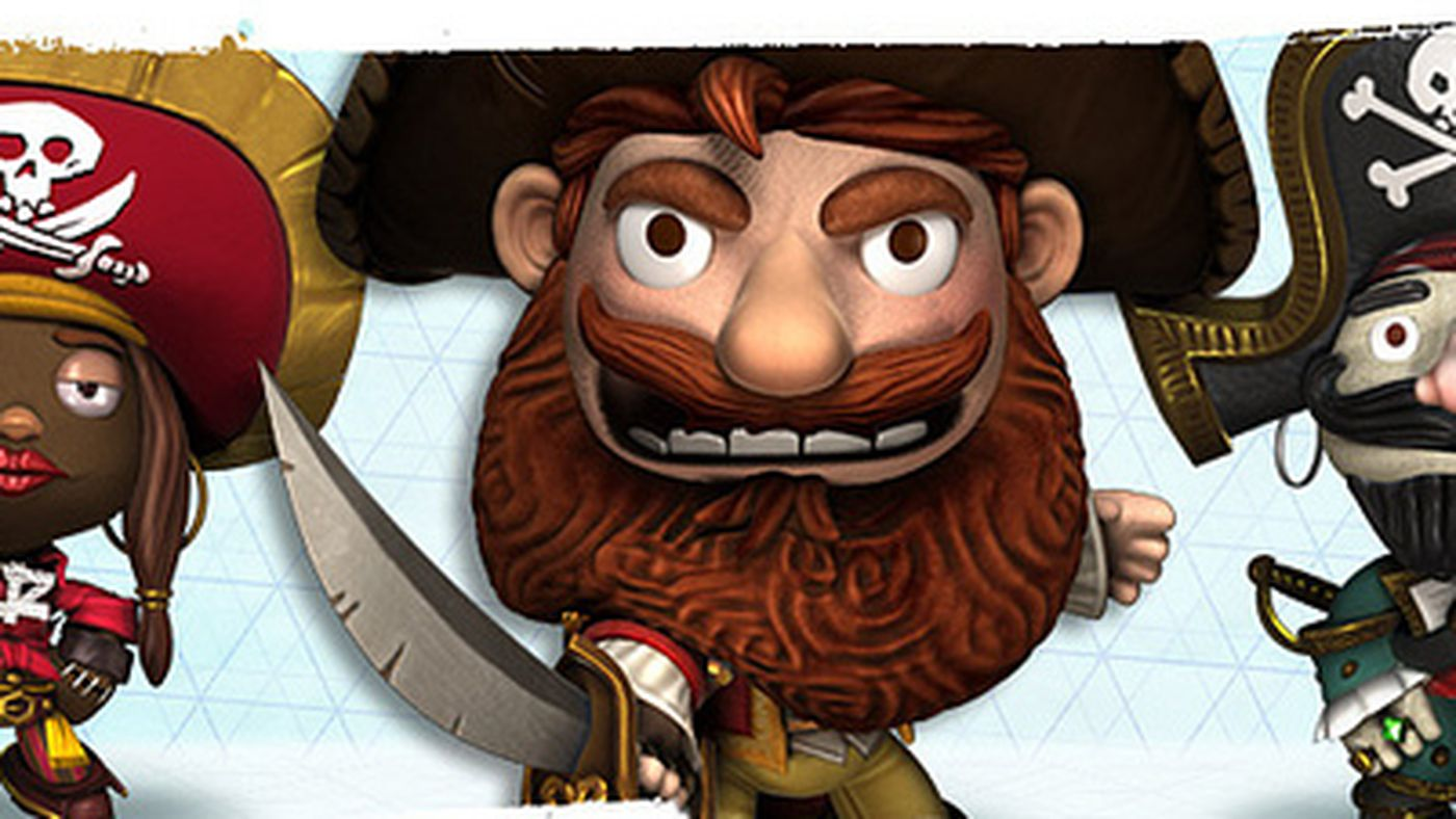 Little Big Planet Introduces New Costumes From The Pirates Band Of Misfits Polygon