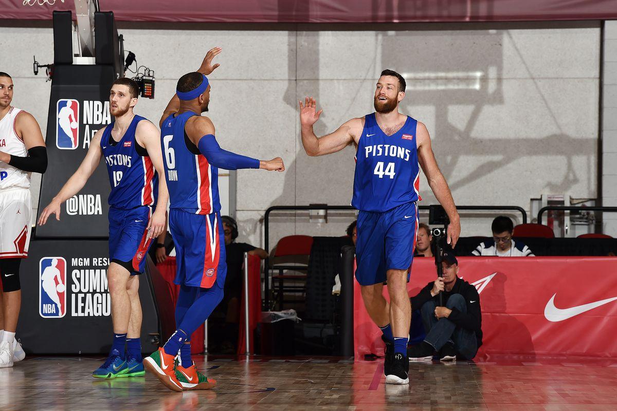 2019 Las Vegas Summer League - Day 1 - Detroit Pistons v Croatia
