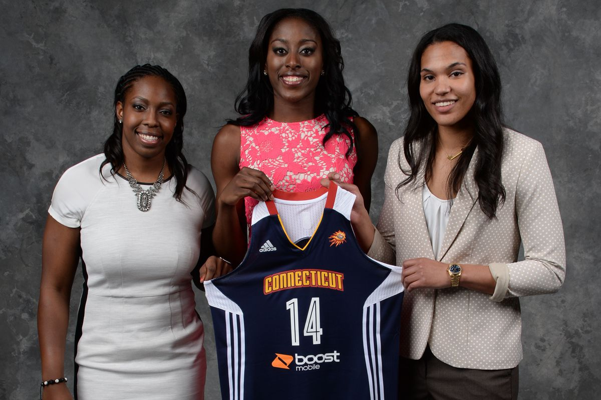 Connecticut scored an trio of players at the top of their college position in the first round.