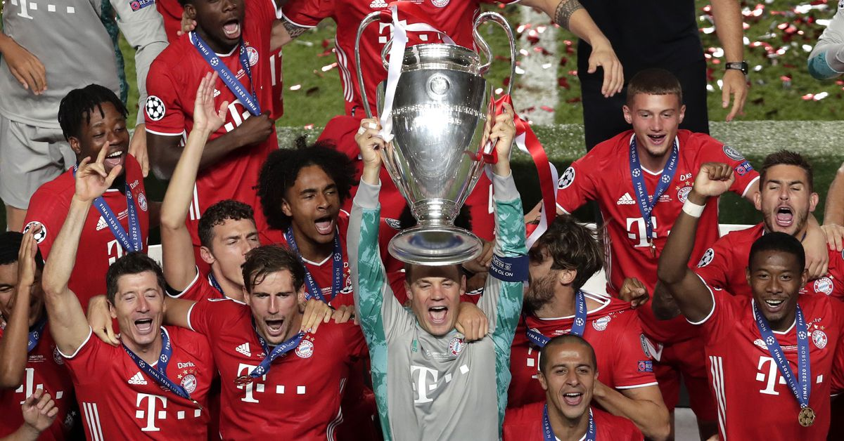 Match Awards From Bayern Munich S Win Over Paris Saint Germain In The Champions League Final Bavarian Football Works